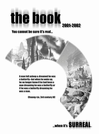 opening cover page for 2001-2002 yearbook